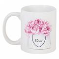 Кружка с рисунком Dior Peonies DG-D-DW-L-2