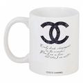 Кружка с рисунком Drink champagne. Coco Chanel DG-D-DW-L-8