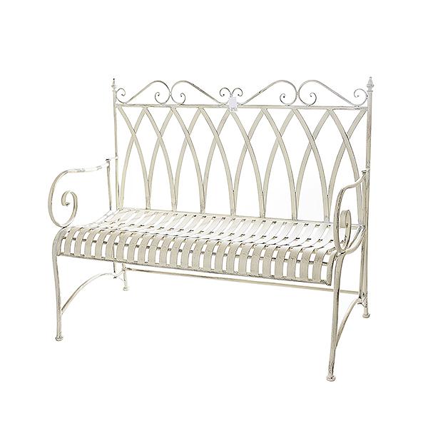 Садовый диван Белый ажур HS129167