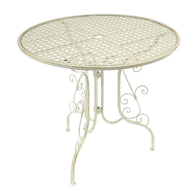 Стол с коваными ножками 89х89х76,5 PL08-3095