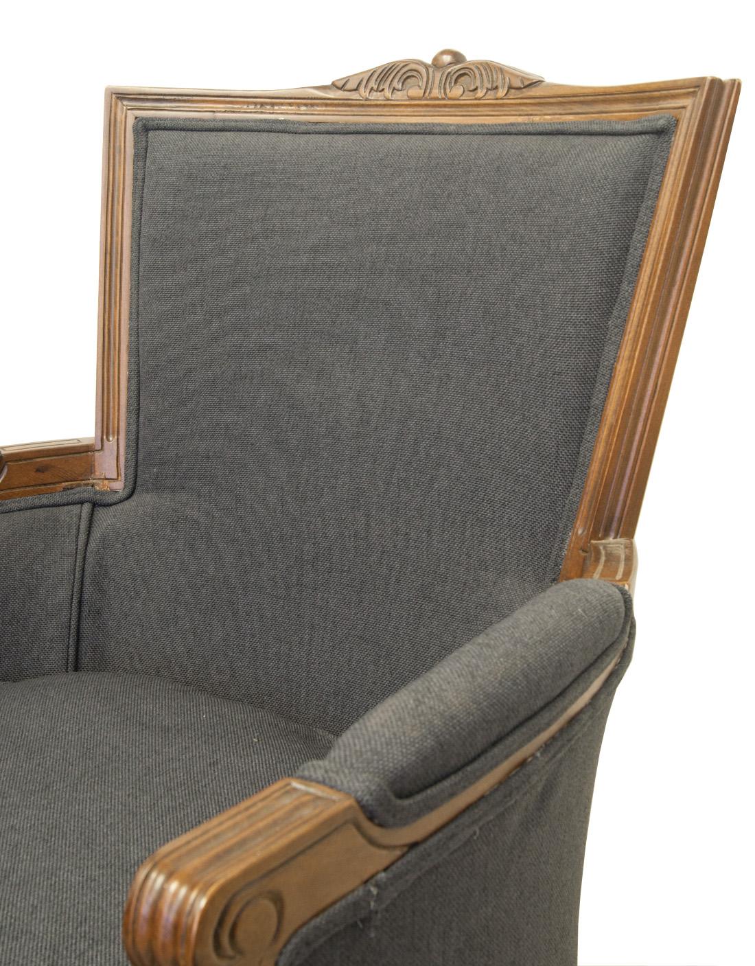 Кресло Tous dark grey CH-304-G
