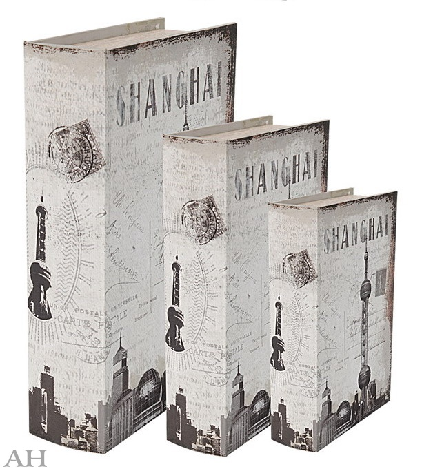 Шкатулки (3 шт) 32663 SHANGHAI
