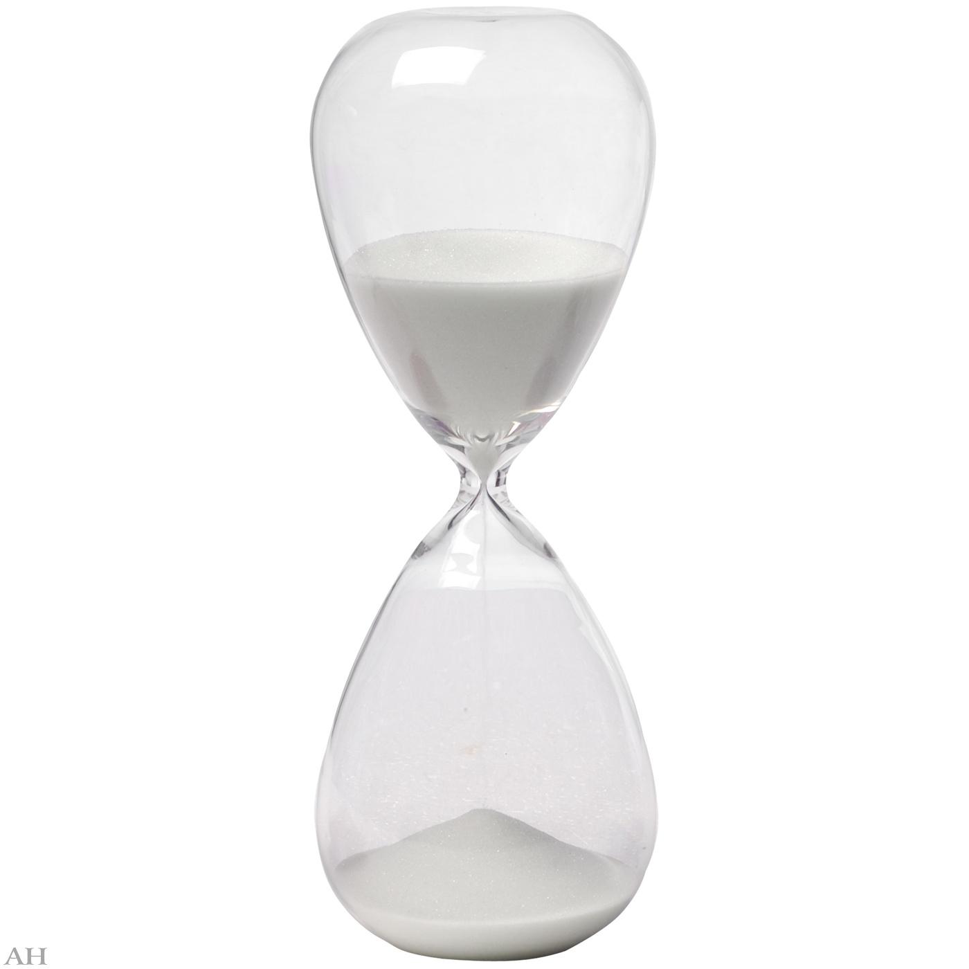 Часы песочные 1 час 73229-WHIT