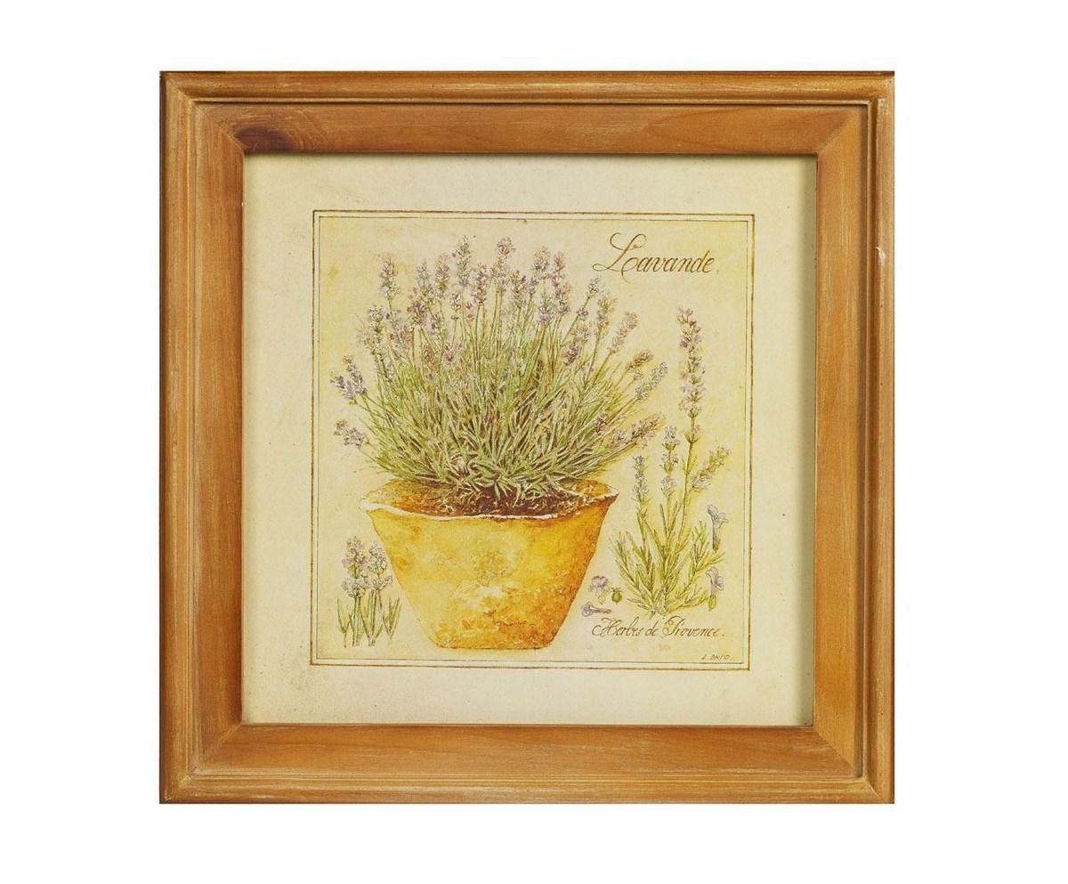 Картина в рамке Lavande