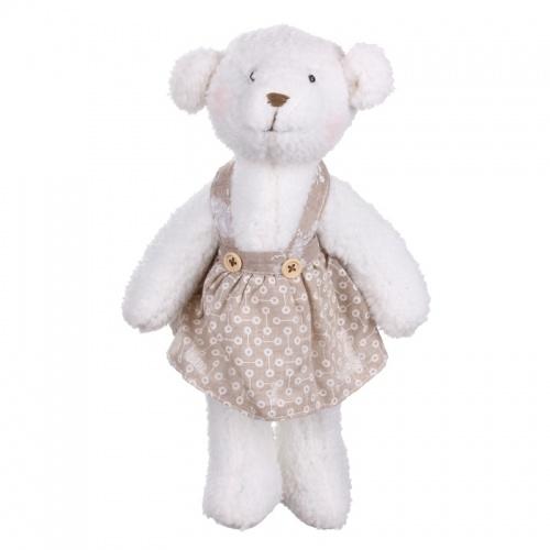 Мишка (девочка) 17х13х14см LJ87-0017