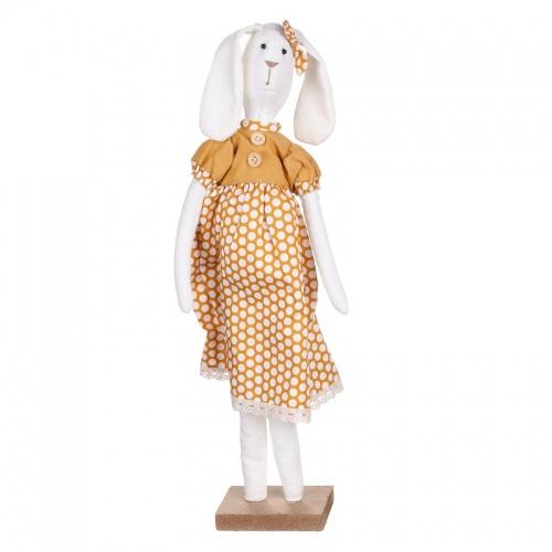 Заяц стоящий (девочка) 8,5х7,5х41см LJ87-0033