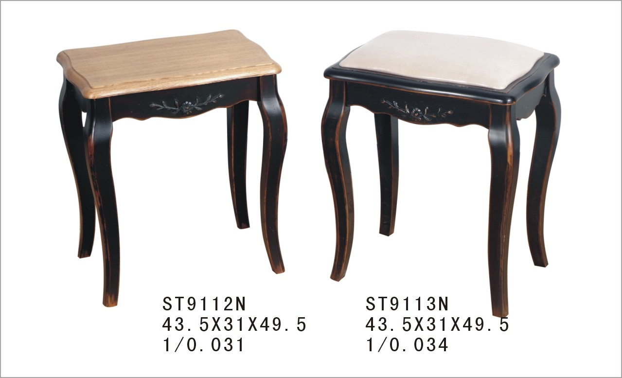 Табурет с мягким сиденьем к макияжному столику ST9113N