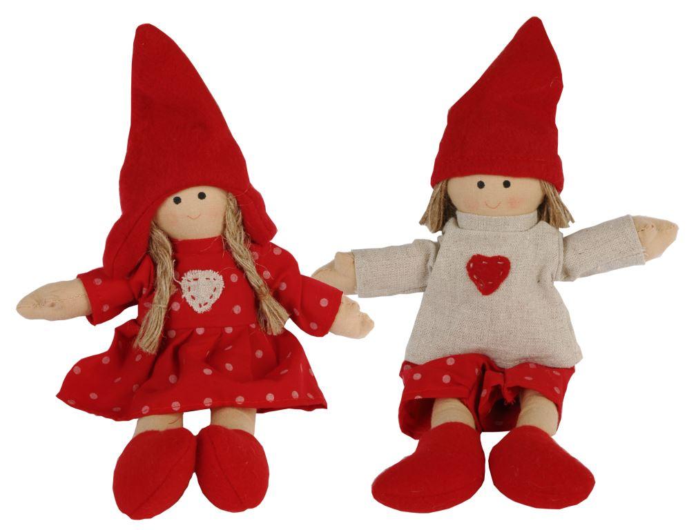 Тильда куклы подвесные (2) 20 см TW0029