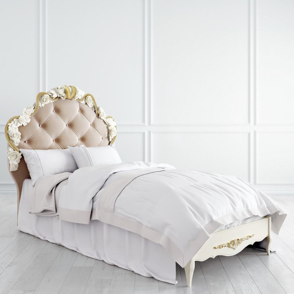 Кровать с мягким изголовьем 90*120 R409-K02-AG-B01