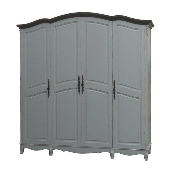 Шкаф 4-х дверный AS6684 (D71+M01)