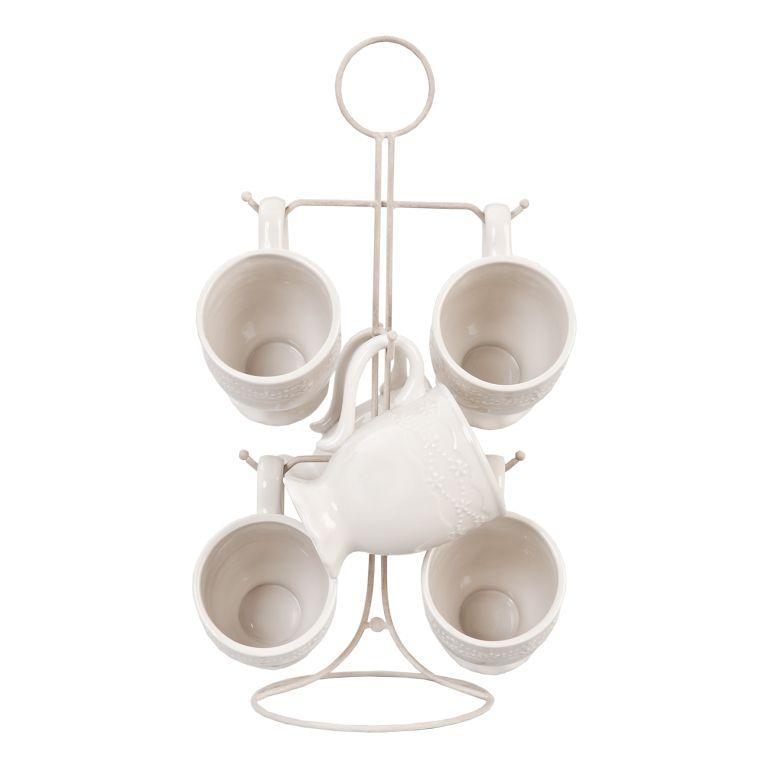 Набор посуды (6) 22*22*40 cm 61994
