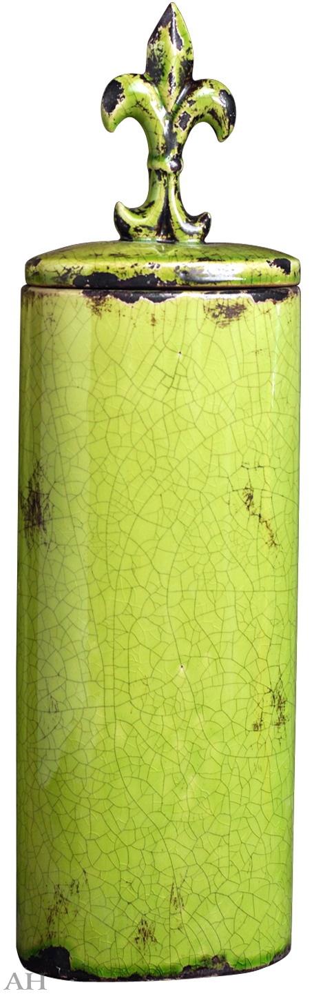 Ваза с крышкой 16,5 х 11 х 58 см, 66639-GREE