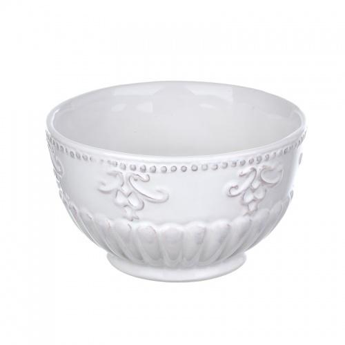 Миска для бульона из грубой керамики DB08-0011