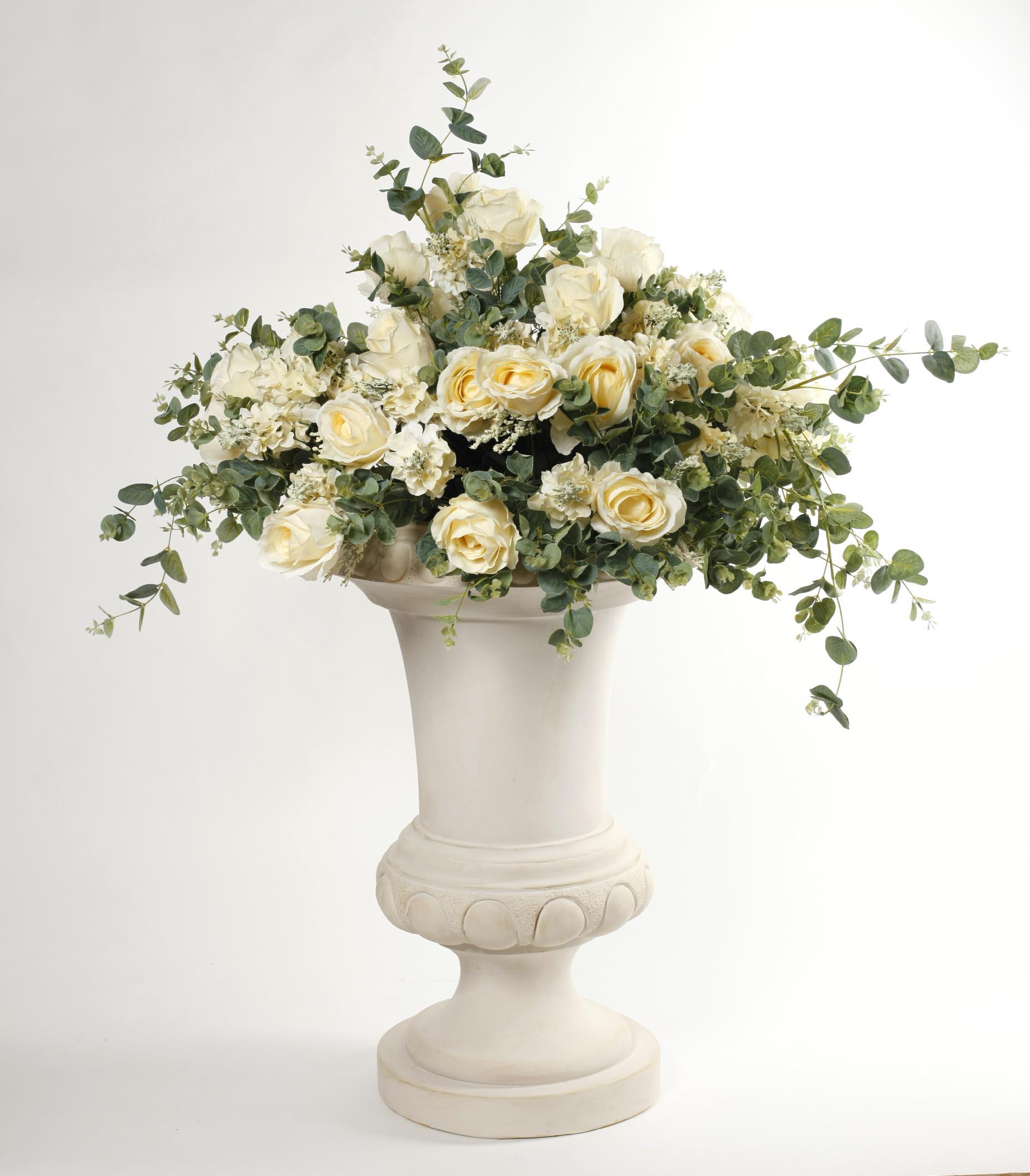 Ваза напольная с цветами Dolce rosa 120 см