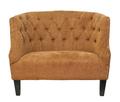 Широкое кресло Solio orange