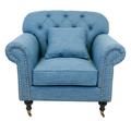 Кресло Kavita blue DF-1819-B