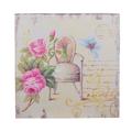 Панно Кресло с цветами и бабочкой FRT1922