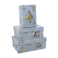 Набор коробок с птичкой (из 3 шт.) LPH-56