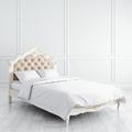 Кровать с мягким изголовьем 120*200 Romantic Gold