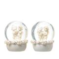 Ангелы в шаре Роза счастья (набор из 2х штук) A308462-29
