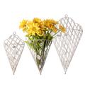 Держатель для цветов Белый ажур (3шт) PL08-4860