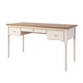 Письменный стол с 3-я ящиками Leblanc, бежевый