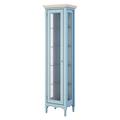Витрина R голубая Leblanc W-LG120