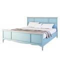 Кровать двуспальная голубая 180*200 Leblanc NH-LG138