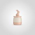 Банка для сыпучих Розовый кролик S