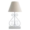 Настольная лампа белого цвета