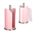 Металлический Держатель для Бумажных Полотенец Розовый