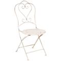 Складной стул «Жарден» (белый антик)