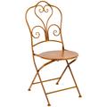 Складной стул «Жарден» (карамель)