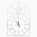 Часы «Кружево небес», белый антик