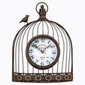 Часы «Волшебный сад», черный антик