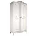 Шкаф 2 двери Belverom (белый)