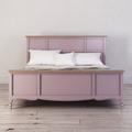 Кровать Leblanc лаванда, с изножьем