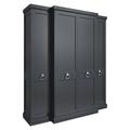 Шкаф 4 двери E124H-B-N