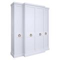 Шкаф 4 двери E124H-W-G
