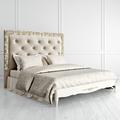 Кровать с мягким изголовьем 180*200 Romantic Gold