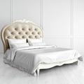 Кровать с мягким изголовьем 160*200 Romantic