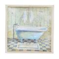 Панно голубая ванная 26х26 FRT0067