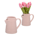 Кувшин-Лейка Керамический Нежный Розовый