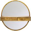 Настенное зеркало с полочками «Одиссея»