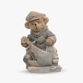 Мишка с Якорем (Полистоун) 20x12x8.5