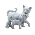 Кошка Кайли с Котенком Чуи (Полистоун)