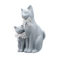 Кошечка Молли с Котенком (Полистоун)