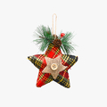 Новогодняя Елочная Подвеска-Звездочка Малая