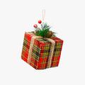 Новогодняя Елочная Подвеска-Кубик Малая