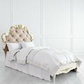 Кровать с мягким изголовьем 90*120 Romantic Gold